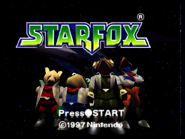 Star Fox 64 - Its reagular star fox with people looking up - User Screenshot